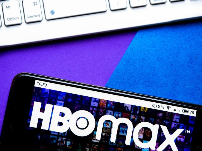 UKRAINE - 2020/10/12: In this photo illustration an HBO Max logo seen displayed on a smartphone. (Photo Illustration by Igor Golovniov/SOPA Images/LightRocket via Getty Images)
