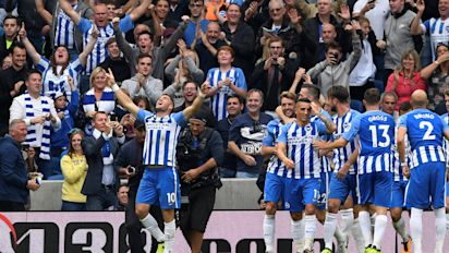 Brighton rock as Hemed downs Newcastle