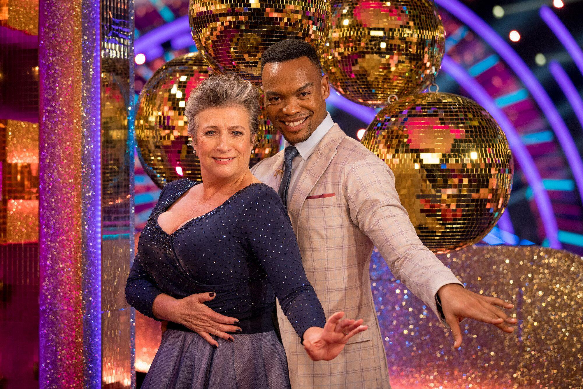 Caroline Quentin Admits She And Partner Johannes Radebe Have Had Their First Strictly Row