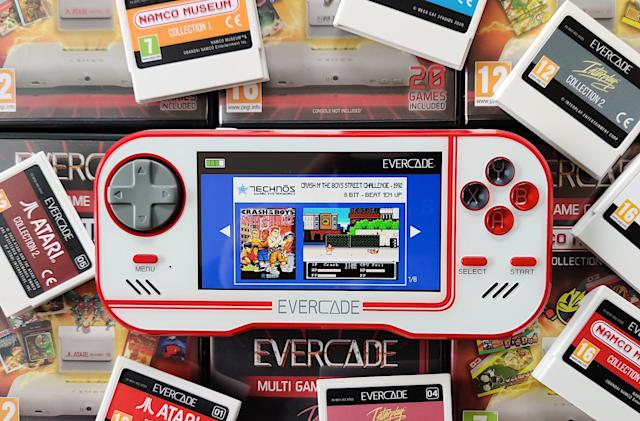 Evercade's cartridge-based retro handheld makes more sense than you think
