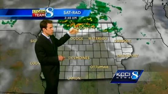 Video-Cast: Tracking weekend storms