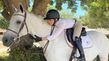 Selma Blair 'Could Not Stop Smiling' After Going Jumping with Her Horse: 'We Took It Slow'