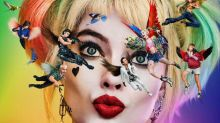 Psychedelic first poster lands for Margot Robbie's 'Birds of Prey' DC movie DC