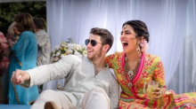 Priyanka Chopra and Nick Jonas Confirm Their Wedding With Mehendi Ceremony Photos