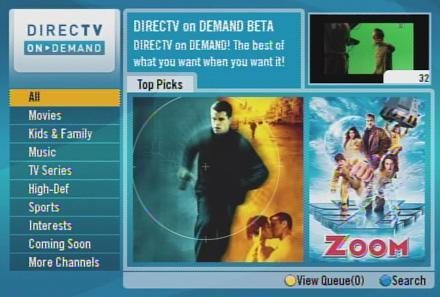 First look at DirecTV on Demand