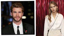 Liam Hemsworth Hugs Girlfriend Gabriella Brooks During Family Outing At The Beach