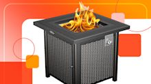 Turn your backyard into a cozy outdoor paradise with this top-rated fire pit that's $75 off on Amazon