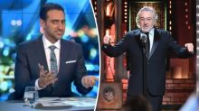 Waleed Aly takes aim at Robert De Niro for double F-bomb on President Trump