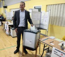 The Latest: European Parliament vote shifts to 4 nations
