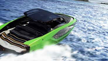Lamborghini推出的遊艇與他們的超級跑車一樣狂