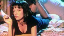 Maya Hawke, la hija de Uma Thurman, ha cambiado de 'look' y ahora es igual a su madre en 'Pulp Fiction'