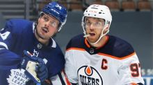 Connor McDavid isn't expecting offensive explosion in Oilers-Maple Leafs series