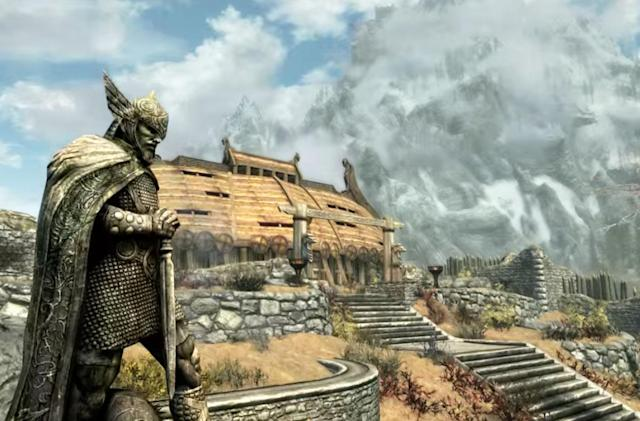 'Skyrim Special Edition' audio took a step backward