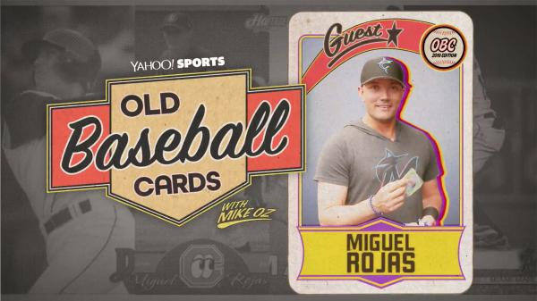 Old Baseball Cards Miguel Rojas Talks About Marlins