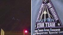 Strange lights in the sky being 'investigated'