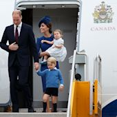 The Royals Take Canada! William, Kate, George and Charlotte Touch Down for Their Canadian Tour