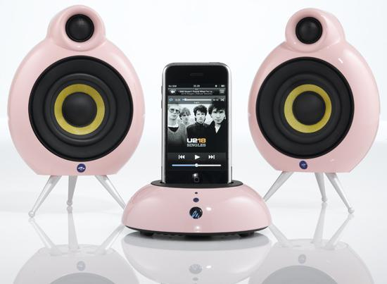 Scandyna Speakers intros $300 retro-inspired iPod Pink Dock Pack