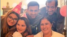 Watch: Sania Mirza and Shoaib Malik Celebrated her Birthday with Newborn Son Izhaan