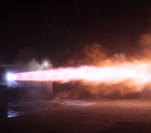 SpaceX's New Raptor Rocket Engine Shoots Massive Flames, As It Should