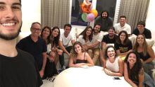 Fátima Bernardes leva susto com festa surpresa: 'Amei'