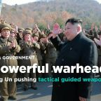 KCNA: North Korean leader Kim Jong Un oversees test of new tactical guided weapon
