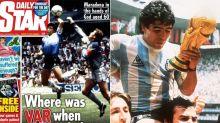 'Truly disgusting': England's response to Maradona tragedy slammed