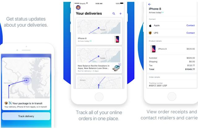 Shopify's Arrive app tracks your online orders on a live map