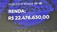 Estreia do Brasil teve renda de R$ 22 milhões e ingresso médio a R$ 483