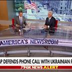 President Trump defends phone call with Ukrainian president