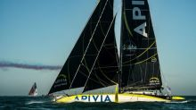 Vendee debutant Dalin extends lead over foil-cutting Ruyant
