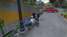 Google Street View leads to divorce after man spots wife cuddling with a stranger