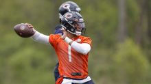 First look at QB Justin Fields wearing his Bears uniform