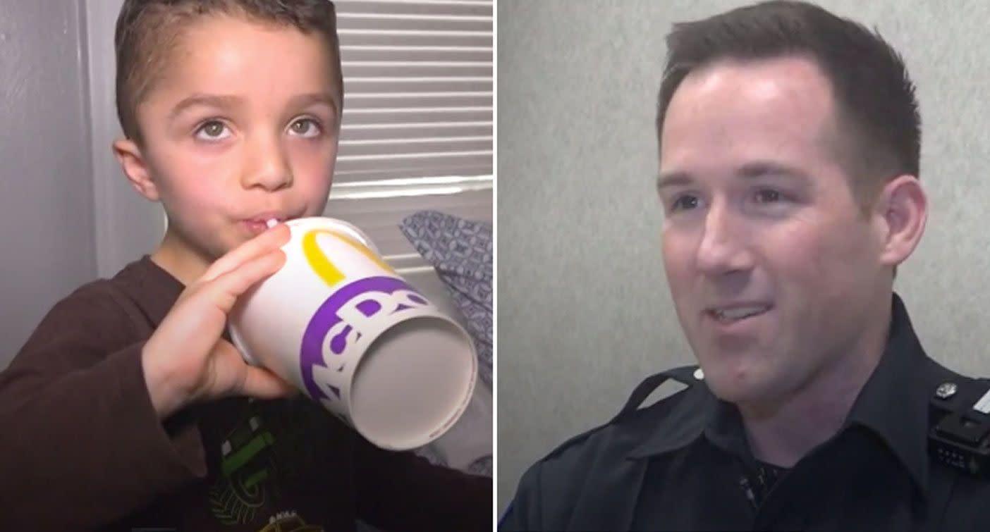 'Can you bring me McDonald's?': Boy's bizarre emergency call