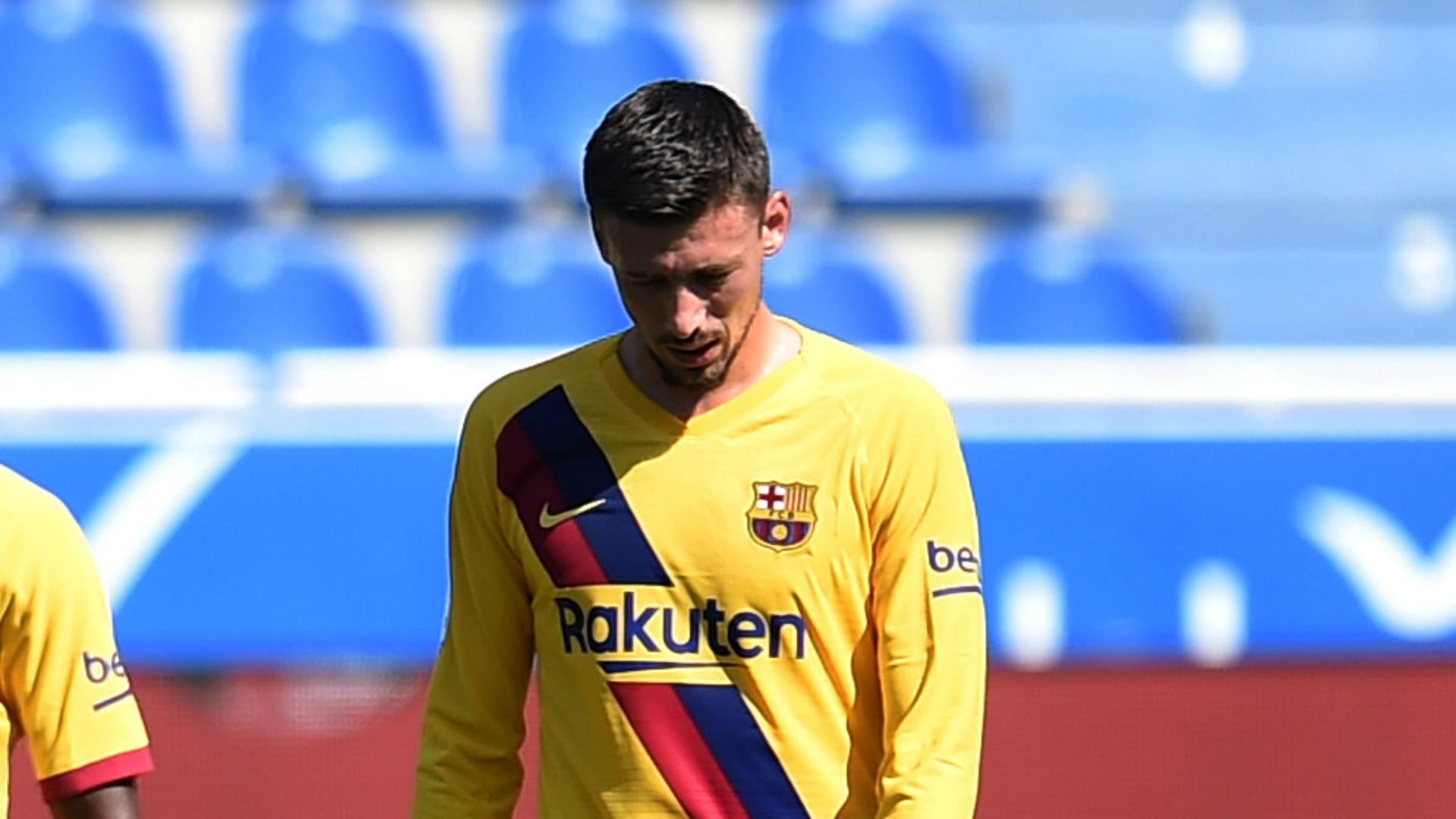 Barcelona's Lenglet to have treatment on groin injury