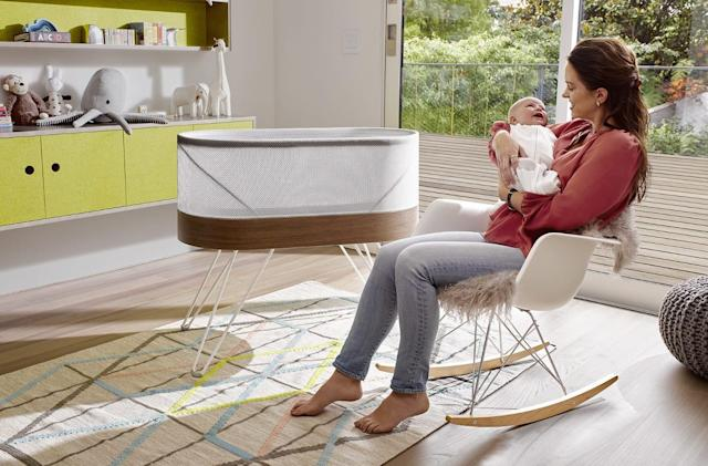 Now you can rent the pricey Snoo smart bassinet