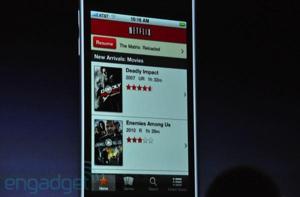 Netflix app headed for the iPhone