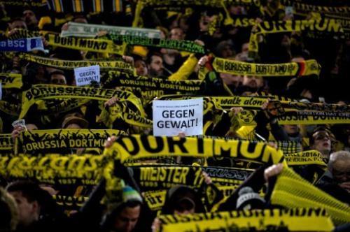 """Ligue des champions: A quoi ressemble le fameux """"Mur Jaune"""" de Dortmund?"""