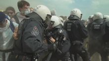 Climate protesters storm open-pit mine in western Germany