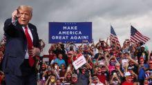 Trump and Republicans raised $210 million in August, far short of Biden