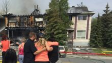 Townhouse condo building destroyed in Yellowknife fire