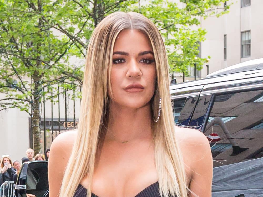 Khloé Kardashian kontert mit Oben-ohne-Aufnahmen ihren Kritikern