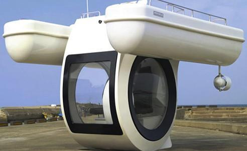 Tiny EGO pseudo-submarine for the super rich is aptly named