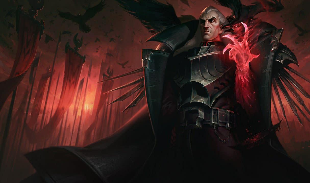 「斯溫」轉變型態,從附近的所有敵人身上吸取生命,每次吸取造成50 / 100 / 150點魔法傷害並回復50 / 90 / 130點生命,持續6秒。 在型態結束時,斯溫會放出一團能量,來對附近的敵人造成300 / 600 / 900點魔法傷害