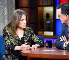 Stephen Colbert Goes Easy on Anti-Science Presidential Candidate Marianne Williamson