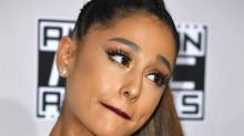 Ariana Grande goes grey -- on purpose