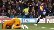 Barca oust United, Ajax dump Juve from ECL