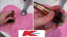$6 Kmart item transforms makeup essentials in jaw-dropping video