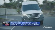 Mercedes now building vans in South Carolina instead of r...