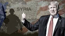 Trump won't seek new authority for wider Syria mission after hammering ISIS