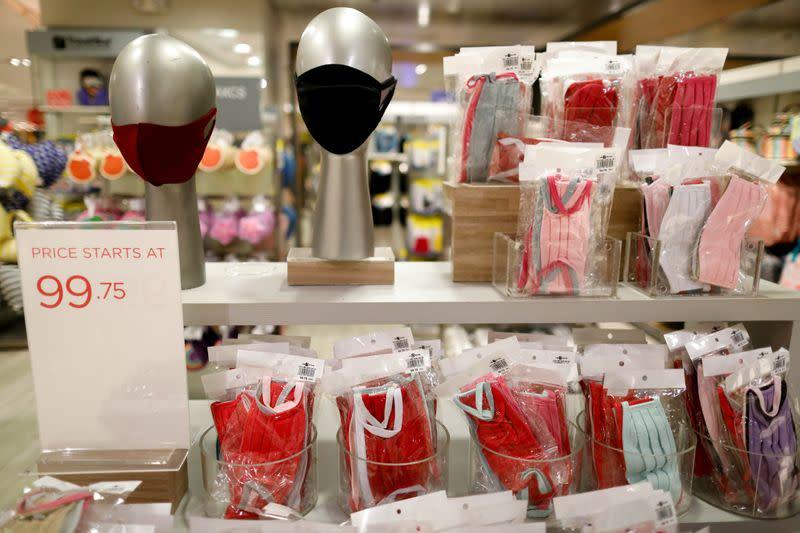 Face masks on sale amid the coronavirus disease (COVID-19) outbreak